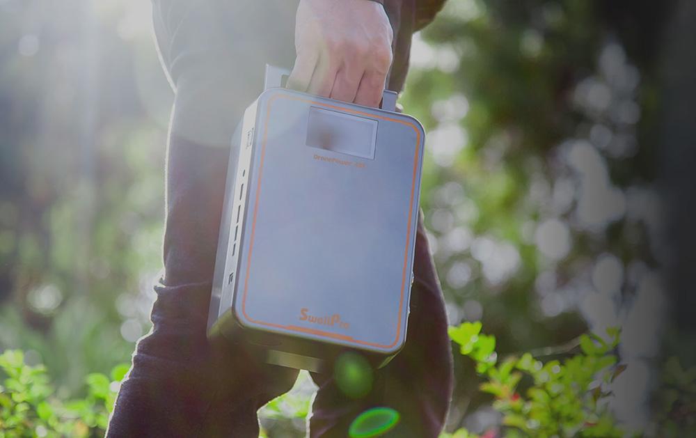 无人机续航革命性产品 斯威普便携式充电宝正式发售